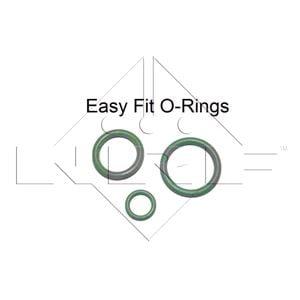 Seal Kit, Air Conditioning, ZESTAW ORINGOW KLIMATYZACJI 6MM 5 SZT, NRF