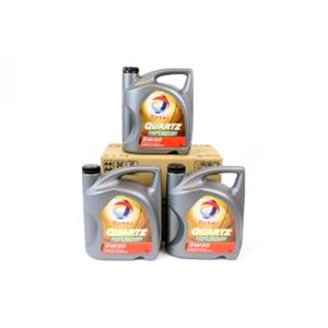 Engine Oils and Lubricants, TOTAL Quartz 9000 Future NFC 5w30 Fully Synthetic Engine Oil VALUE PACK 3x5 Litre, Total