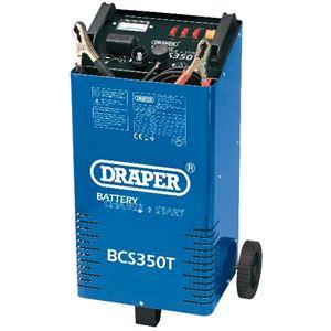 Battery Charger, Draper Expert 40180 230V Battery Charger- Starter, Draper