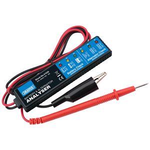 Battery Testers, Draper 41026 Battery and Alternator Analyser for 12V DC Systems, Draper