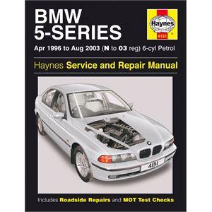Haynes DIY Workshop Manuals, BMW 5-Series 6-Cylinder Petrol (April 96 - Aug 03) N to 03 Reg, Haynes