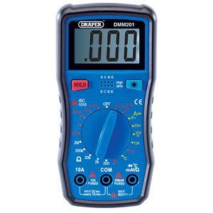 Multimeters, Draper 41818 Digital Multimeter, Draper