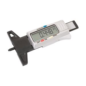 Wheel and Tyre Tools, LASER 4262 Tyre Tread Depth Gauge - Digital, LASER