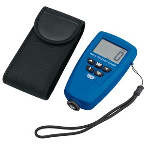 Vehicle Bodywork, Draper Expert 43620 Ultrasonic Paint Thickness Gauge, Draper