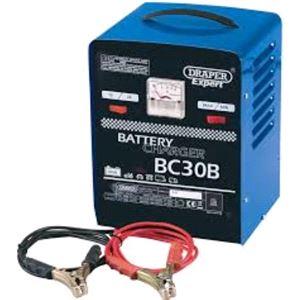 Battery Charger, Draper Expert 05583 12V-24V 20A Battery Charger, Draper