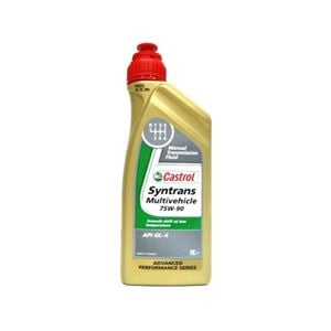 Gearbox Oils, Castrol Syntrans Multivehicle 75w90 Gear Oil 1 Litre, Castrol