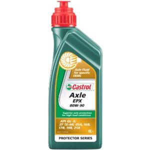 Gearbox Oils, Castrol Axle EPX 80w90 Gear Oil 1 Litre, Castrol