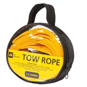 Travel and Touring, Tow Rope - 4m - 3500kg, AA