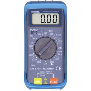 Multimeters, Draper 52320 16 Function Digital Multimeter, Draper