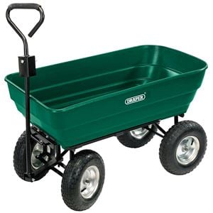 Waste Collection, Composting and Tidying, Draper 52628 Heavy Duty Tipping Cart, Draper