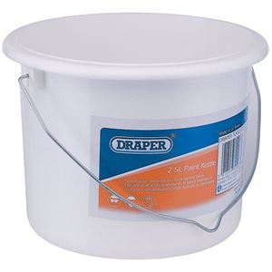 Paint Kettles and Scuttles, Draper 53088 2.5L Plastic Paint Kettle, Draper