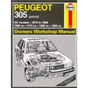 Haynes DIY Workshop Manuals, Peugeot 305 Haynes Manual, Haynes