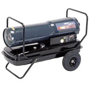 Diesel, Kerosene and Paraffin Heaters, Draper 53925 Jet Force, Diesel, Kerosene and Paraffin Space Heater (215,000 BTU/62kW), Draper