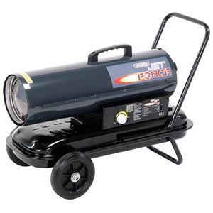 Diesel, Kerosene and Paraffin Heaters, Draper 53926 Jet Force, Diesel, Kerosene and Paraffin Space Heater (75,000 BTU/22kW), Draper