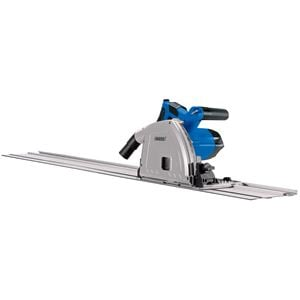 Circular and Plunge Saws, Draper 57341 165mm Plunge Saw with Rail 1200W   , Draper