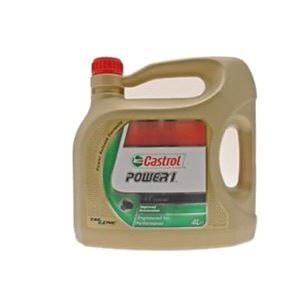 Engine Oils and Lubricants, Power 1 4T - 4 Stroke - 10W-40 - Semi Synthetic - 4 Litre, Castrol