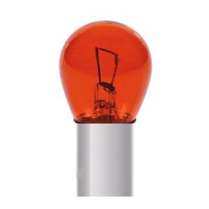 Bulbs - by Bulb Type, 12V Red Dyed Glass, Single filament lamp - P21W - 21W - BA15s - 2 pcs  - D/Blister, Pilot