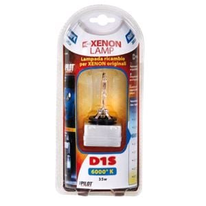 Bulbs - by Bulb Type, HID Xenon Lamp 6.000°K - D1S - 35W - PK32d-2 - 1 pcs  - D/Blister, Pilot