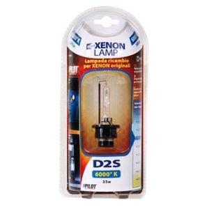 Bulbs - by Bulb Type, HID Xenon Lamp 6.000°K - D2S - 35W - P32d-2 - 1 pcs  - D/Blister, Pilot