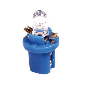 Bulbs - by Bulb Type, 12V Cockpit colour lamp 1 Led - B8,5d - 2 pcs  - D/Blister - Blue, Pilot