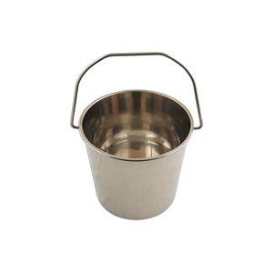 DIY Tools, LASER 5929 Stainless Steel Bucket - 12 Litre, LASER