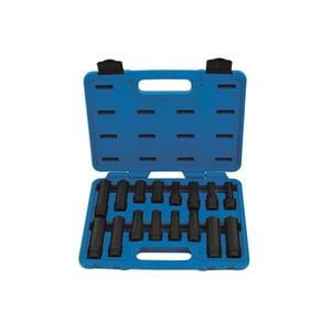 Wheel and Tyre Tools, Locking Wheel Nut Master Key Set 16pc, LASER