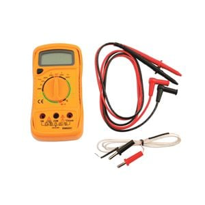 Multimeters and Electronic Tools, LASER 5989 Digital Multi Meter with Temp Probe, LASER