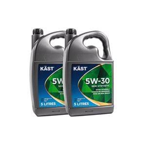 Engine Oils and Lubricants, KAST 5w30 Semi Synthetic Engine Oil. 10 Litre, KAST