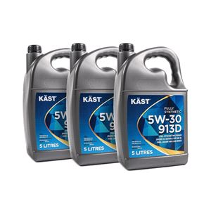 Engine Oils and Lubricants, KAST 5w30 913D FORD Fully Synthetic Engine Oil. 15 Litre, KAST