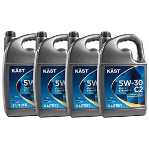 Engine Oils and Lubricants, KAST 5w30 Fully Synthetic C2 Engine Oil. 20 Litre, KAST