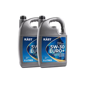 Engine Oils and Lubricants, KAST 5w30 Euro+ Fully Synthetic Engine Oil. 10 Litre, KAST