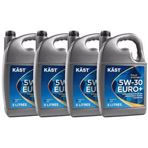 Engine Oils and Lubricants, KAST 5w30 Euro+ Fully Synthetic Engine Oil. 20 Litre, KAST
