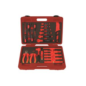 Tools, INSuLATED TOOL KIT 3-8D 25PC, LASER