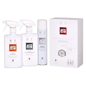 Car Care Kits, Autoglym The Perfect Wheels Collection 3 Piece Gift Pack, Autoglym