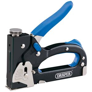 Staplers, Draper 63660 General Duty Staple Gun Tacker, Draper