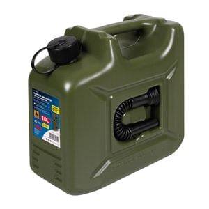 Jerry and Fuel Cans, PE military type jerry can - 10 L, Lampa