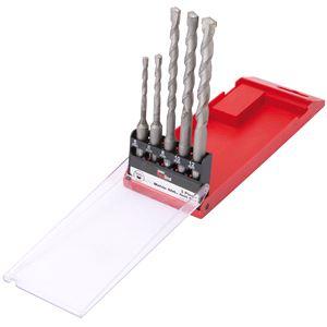 Drill Bit Sets, Draper Redline 68471 SDS+ Drill Set (5 piece), Draper