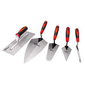 Trowels, Floats and Hawks, Draper Redline 69153 Trowel Set (5 piece), Draper