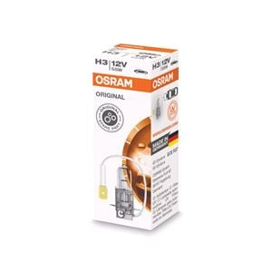 Bulbs - by Vehicle Model, Osram Original H3 Bulb  - Single for Nissan MICRA, 1992-2003, Osram