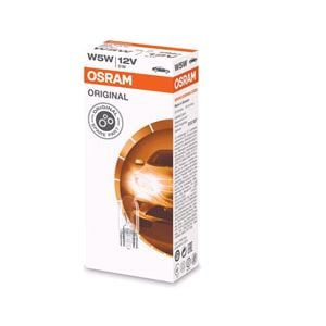 Bulbs - by Vehicle Model, Osram Original W5W Bulb - Single for Nissan MICRA IV, 2010-2017, Osram