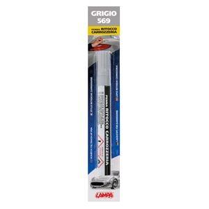 Touch Up Paint, Scratch Fix Touch Up Paint Pen for Car Bodywork - GREY 2, Lampa