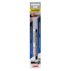 Touch Up Paint, Scratch Fix Touch Up Paint Pen for Car Bodywork - GREY 3, Lampa