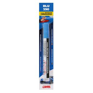 Touch Up Paint, Scratch Fix Touch Up Paint Pen for Car Bodywork - BLUE 2, Lampa