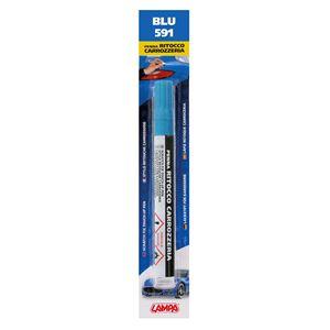 Touch Up Paint, Scratch Fix Touch Up Paint Pen for Car Bodywork - BLUE 3, Lampa