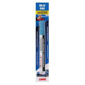 Touch Up Paint, Scratch Fix Touch Up Paint Pen for Car Bodywork - BLUE 4, Lampa