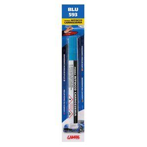 Touch Up Paint, Scratch Fix Touch Up Paint Pen for Car Bodywork - BLUE 5, Lampa