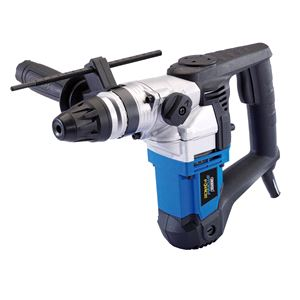 Drills and Cordless Drivers, Draper 76490 Storm Force SDS+ Rotary Hammer Drill Kit with Rotation Stop (900W), Draper