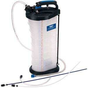Oil Drainers, Draper Expert 77057 Manual or Pneumatic Oil Extractor, Draper
