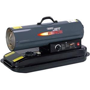 Diesel, Kerosene and Paraffin Heaters, Draper 81027 Jet Force, Diesel and Kerosene Space Heater (70,000 BTU/20kW), Draper