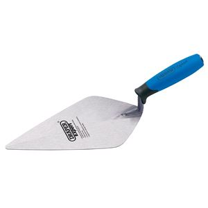 Trowels, Floats and Hawks, Draper Expert 81211 Soft Grip London Pattern Brick Trowel (280mm), Draper
